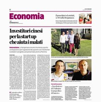 Parlano di noi su l'Eco di Bergamo