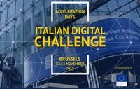 Invitati a partecipare @Italian_Digital Challenge presso la Commissione Europea di Bruxelles